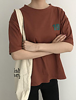preiswerte -Damen Solide - Aktiv T-shirt