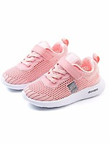 cheap -Girls' Shoes Tulle Spring Comfort Athletic Shoes for Casual Black Gray Pink