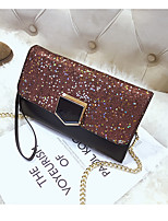cheap -Women's Bags PU Clutch Buttons for Event / Party Black / Blushing Pink / Brown