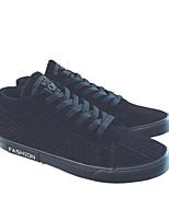 Недорогие -Муж. обувь Замша Осень / Зима Удобная обувь Кеды Черный / Серый