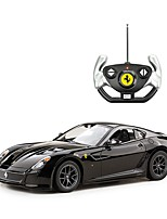 cheap -RC Car Rastar RC Car Ferrari 599 GTO 2.4G On-Road Drift Car 1:14 Brushless Electric 8.2km/h KM/H