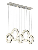 cheap -ZHISHU Nature Inspired Chic & Modern Chandelier Ambient Light - Crystal Multi-shade Mini Style, 220-240V, Warm White+White, LED Light