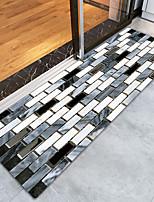 baratos -Os tapetes da área Esporte & lazer / Paisagem Urbana Flanela, Retângular Qualidade superior Tapete / Latex Non Skid