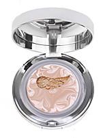 cheap -1pcs Foundation Dry Mineral Pressed powder Long Lasting Anti-UV Natural Nursing General use # lasting Make Up