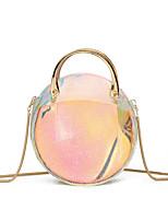 cheap -Women's Bags PU Bag Set 2 Pieces Purse Set Buttons for Event / Party Rainbow
