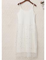 baratos -Mulheres Para Noite Simples Fofo Bainha Vestido Sólido Mini