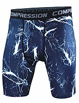 cheap -Men's Running Tight Shorts Shorts - Sports Exercise & Fitness, Racing, Outdoor Exercise Lightweight, Fast Dry, Anatomic Design strenchy