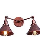 baratos -Antirreflexo Simples / Retro / Vintage Luminárias de parede Sala de Estar / Interior / Lojas / Cafés Metal Luz de parede 110-120V /