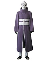 cheap -Inspired by Naruto Madara Uchiha Anime Cosplay Costumes Cosplay Suits Other Long Sleeves Belt Cloak More Accessories Sash / Ribbon For