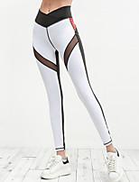 cheap -Women's Sporty Legging - Patchwork High Waist