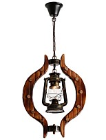 cheap -Pendant Light Downlight - Mini Style, Rustic / Lodge Artistic, 110-120V 220-240V Bulb Not Included