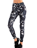cheap -Women's Daily Sporty Legging - Camouflage Mid Waist