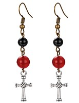 cheap -Women's Cross Drop Earrings - Bohemian / Korean Rainbow Earrings For Party / Gift