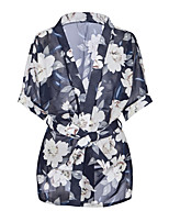 abordables -Costumes Vêtement de nuit Femme - Imprimé, Fleur
