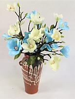abordables -Fleurs artificielles 1 Une succursale Moderne / Contemporain Plantes / Orchidées Fleur de Table
