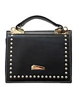 cheap -Women's Bags PU Shoulder Bag Zipper for Casual All Seasons Green Black Red Blushing Pink Brown