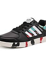 cheap -Men's Shoes Rubber Spring / Summer Comfort Sneakers Black / Blue