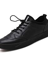 Недорогие -Муж. обувь Резина Весна / Лето Удобная обувь Кеды Черный / Красный