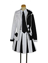 cheap -Inspired by Dangan Ronpa Cosplay Anime Cosplay Costumes Cosplay Suits Other Long Sleeves Coat Shirt Skirt Socks Tie For Unisex