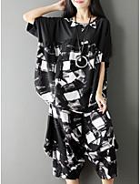 abordables -Mujer Camisa - Geométrico Pantalón