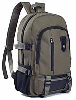 cheap -Men's Bags Canvas Backpack Zipper for Casual Gray / Coffee / Khaki