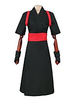 cheap -Inspired by Naruto Temari Anime Cosplay Costumes Cosplay Suits Other Short Sleeve Gloves Belt Kimono Coat For Men's Women's
