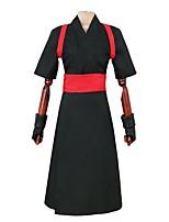 baratos -Inspirado por Naruto Temari Anime Fantasias de Cosplay Ternos de Cosplay Outro Manga Curta Luvas Cinto Capa de Kimono Para Homens Mulheres