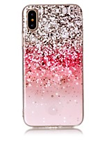 cheap -Case For Apple iPhone X iPhone 8 Ultra-thin Back Cover Color Gradient Soft TPU for iPhone X iPhone 8 Plus iPhone 8 iPhone 7 Plus iPhone 7