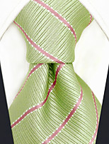 cheap -Men's Party Work Rayon Necktie - Striped Color Block Jacquard