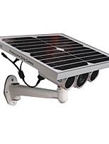 Недорогие -wanscam® водонепроницаемый 1080p безопасности Wi-Fi солнечной энергии IP-камера с ночным видением звездного света в 16g tf-карте