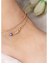 cheap -Cross Anklet - Women's Gold Simple / Vintage / Casual Anklet For Daily / Holiday