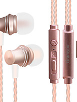 cheap -X13 In Ear Audio IN Headphones Dynamic Aluminum Alloy Sport & Fitness Earphone with Volume Control / with Microphone Headset