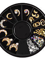 cheap -1pcs Nail Jewelry Metallic Rhinestone Special Designed Casual / Daily Jewelry