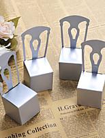 Недорогие -куб Кубик Картон Фавор держатель с Коробочки Мешочки Сувенирные шкатулки Подарочные коробки Упаковка и коробки для кексов Горшки и банки
