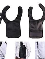 cheap -Shoulder Bag Hiking Camping Travel Anatomic Design Anti-theft Lightweight Nylon Black