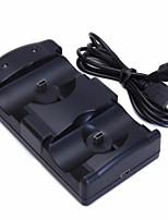 abordables -PS3 Move Câblé Support de poignée Pour Sony PS3 Support de poignée ABS 1pcs unité USB 2.0