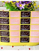 cheap -Romance Stickers, Labels & Tags - 20pcs Rectangle Stickers All Seasons