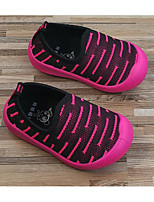cheap -Girls' Boys' Shoes Fabric Spring Fall First Walkers Comfort Loafers & Slip-Ons for Casual Black Fuchsia Green