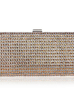 cheap -Women's Bags Polyester Evening Bag Crystals Gold