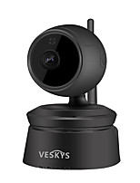 abordables -veskys® 2.0mp 1080 p hd sans fil wifi caméra ip infrarouge vision nocturne intercom bi-directionnel