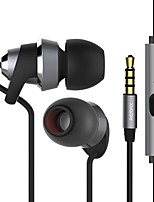 cheap -585 Earphones (Earbuds, In-Ear) Wired Headphones Piezoelectricity Plastic Mobile Phone Earphone Headset