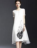 cheap -SHE IN SUN Women's Basic Shift Dress - Floral, Print
