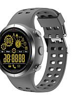 Недорогие -Смарт Часы Защита от влаги Израсходовано калорий Педометры Контроль камеры Многофункциональный Контроль сообщений Информация Длительное
