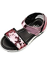 cheap -Girls' Shoes PU Summer Comfort Sandals Magic Tape for Casual Outdoor Pink Royal Blue