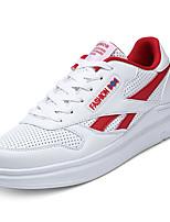 Недорогие -Муж. обувь Тюль Весна / Осень Удобная обувь Кеды Белый / Черный / Красный
