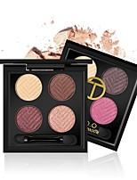 baratos -Makeup 8pcs Sombra de olho Pró Combinação Sombra para Olhos / Sombra Á Prova d'água Colorido Maquiagem Esfumada / Maquiagem de Festa /