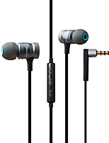 cheap -AWEI 70TY In Ear Cable Headphones Dynamic Mahogany Gaming Earphone with Volume Control / with Microphone Headset