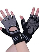 cheap -Sports Gloves Bike Gloves / Cycling Gloves Trainer Yoga Fitness Fingerless Gloves Lycra Spandex Cycling / Bike All