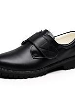 preiswerte -Jungen Schuhe Leder Frühling Komfort Loafers & Slip-Ons für Normal Party & Festivität Schwarz