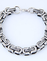 cheap -Men's Chain Bracelet - Vintage Fashion European Gold Silver Bracelet For Street